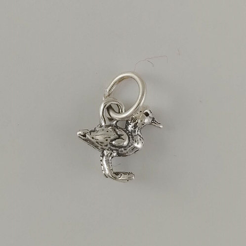 sterling silver 'duckling' charm