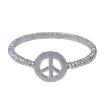 'mini' peace ring