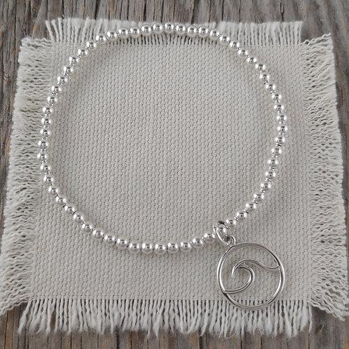 'wave' stretchy bracelet