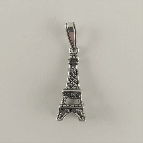 sterling silver 'Eiffel' tower charm