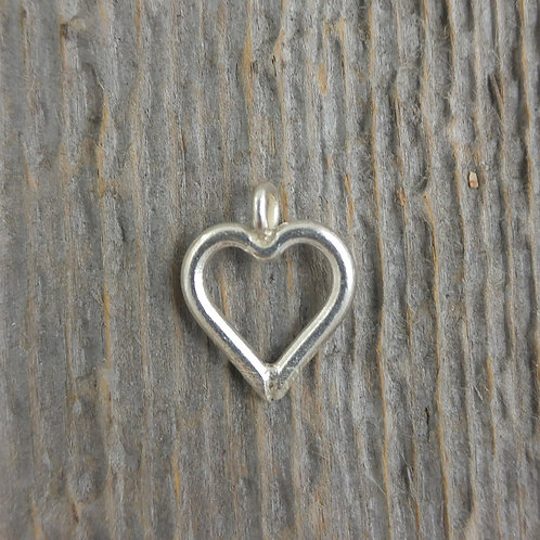 sterling silver heart charm #1