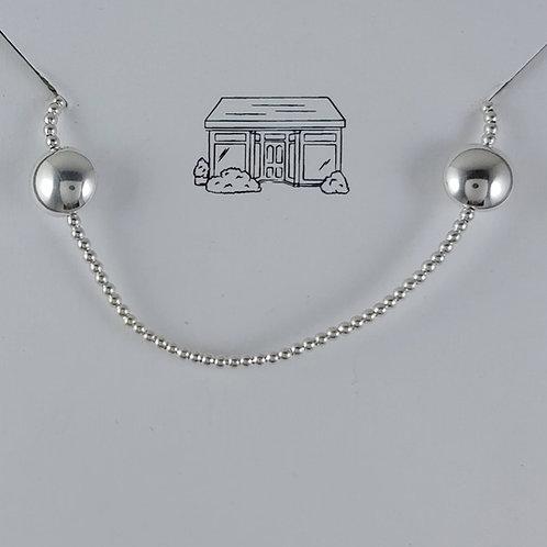 'puffed' round station stretchy bracelet