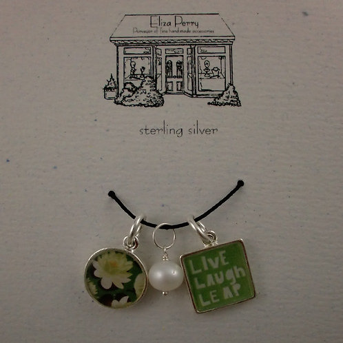 copy of Lotus & green words charms