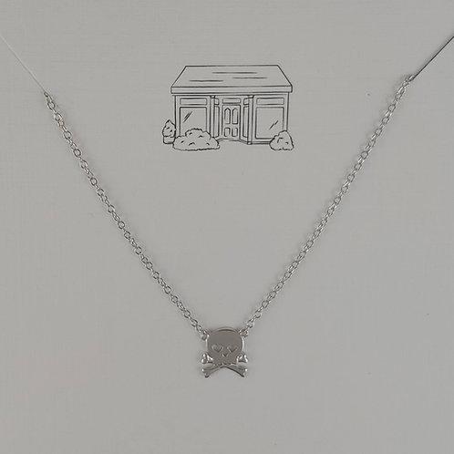 mini 'skull' necklace