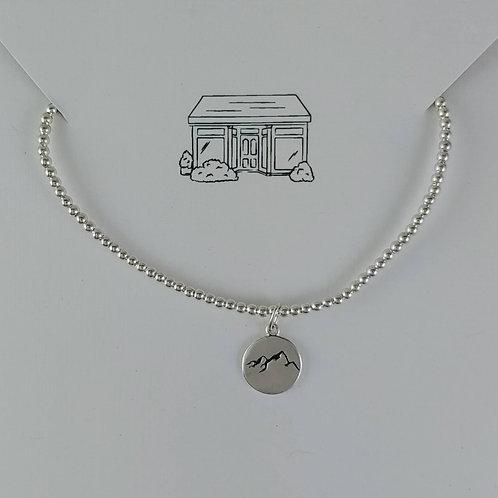 mini 'mountain' range & 2mm stretchy bracelet