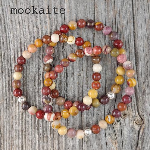 semi-precious stretchy bracelets