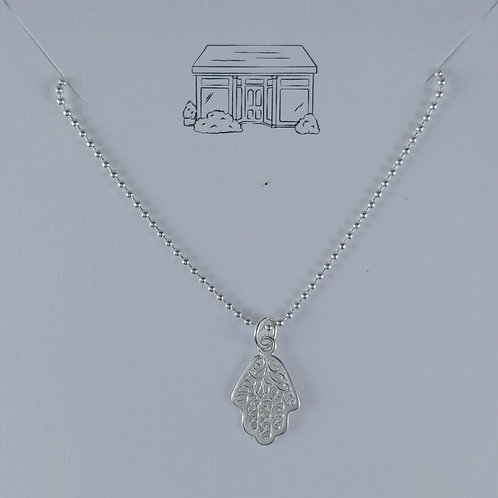 hamsa 'pendant' necklace