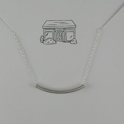 'tube' necklace
