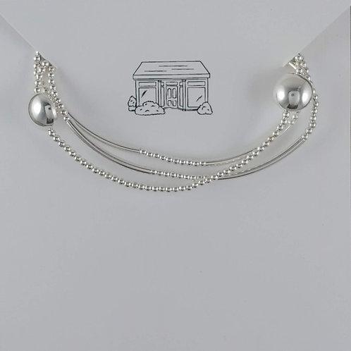 round stretchy bracelet trio #1