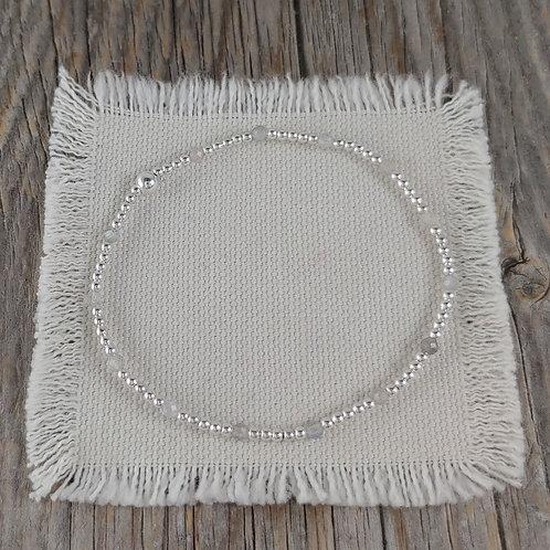 labradorite stretchy bracelet