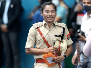 World Champion Hima DS inducted as DSP of Assam Police