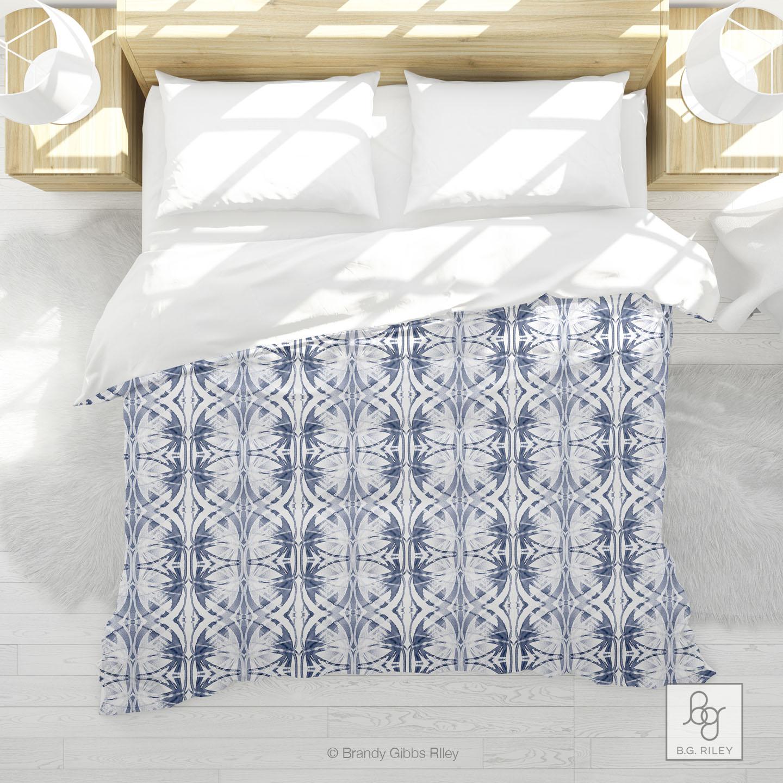 Audrina in Pale Indigo Comforter