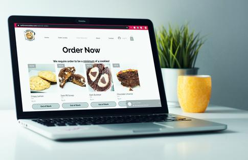 Carbivore Cookies Website