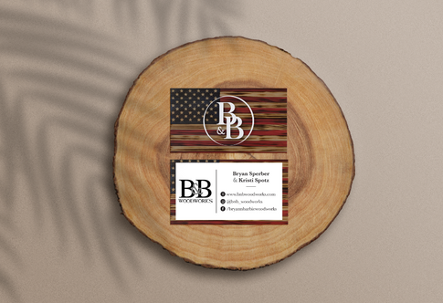 B&B Woodworks Business Cards