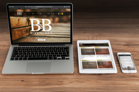 B&B Woodworks Website