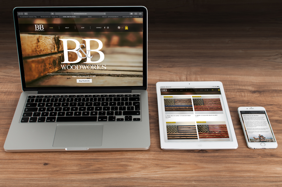 B&B Woodworks Website