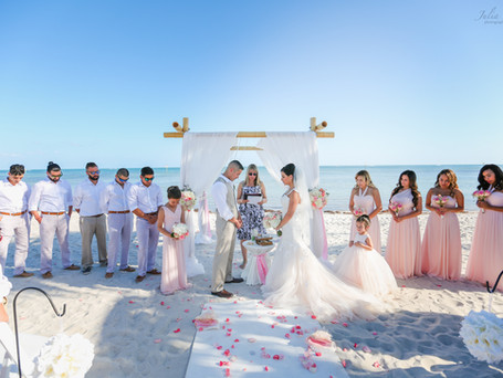 Katherine and Raul ,wedding with Big Day in Key West
