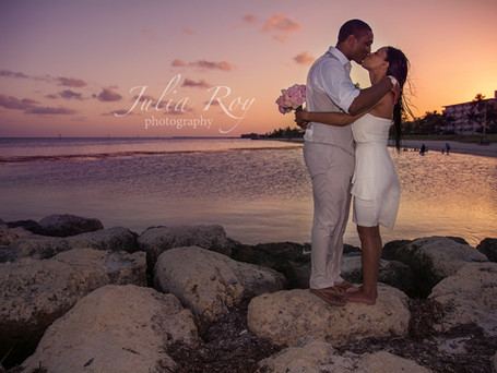 Amazing and intimate wedding ceremony in Key West