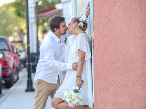Language of love / wedding in Key West , Smathers beach