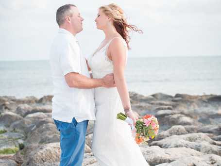 We are family. And family is love. { Alfredo and Rachele } Smathers beach, Key West