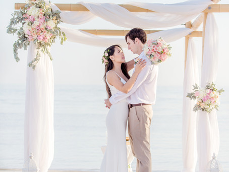 Summer weddings in Key West
