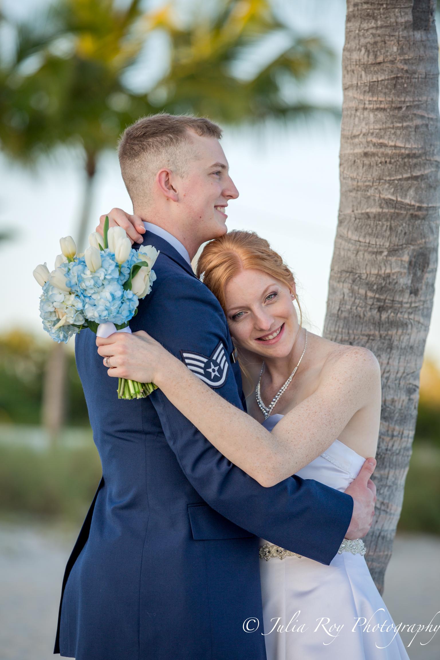 Smathers beach wedding in Key WEst