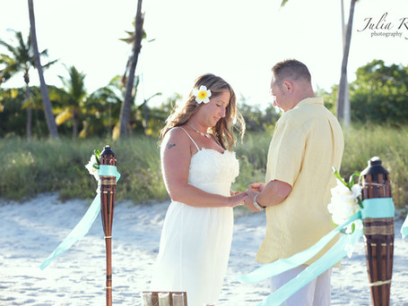 Bring sunshine into your life by getting married in Key West