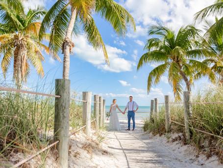 European couple eloped to Key West