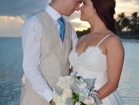 Bilingual wedding in Key West.
