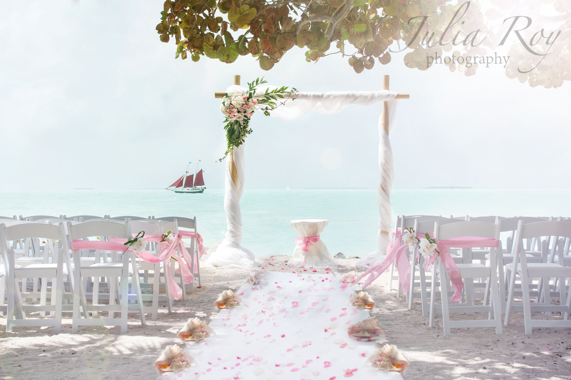 Key West wedding at Fort Zachary Par