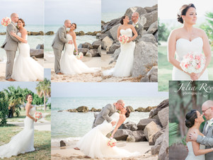 Key West weddings at Fort Zachary Taylor Park