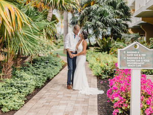 """First Key West Wedding during pandemic  2020 """"Love Conquers ALL, yes even COVID!"""""""