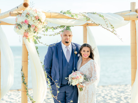 Smathers beach Wedding in April 2021