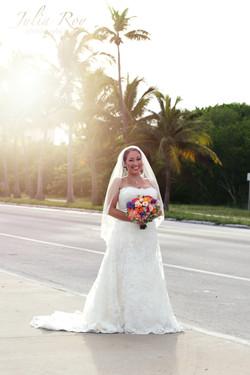 Key West beach wedding ceremony