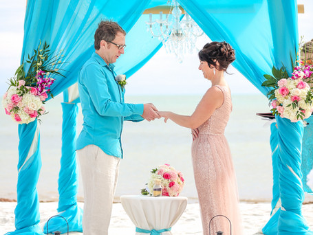 Turquoise Island wedding in Key West