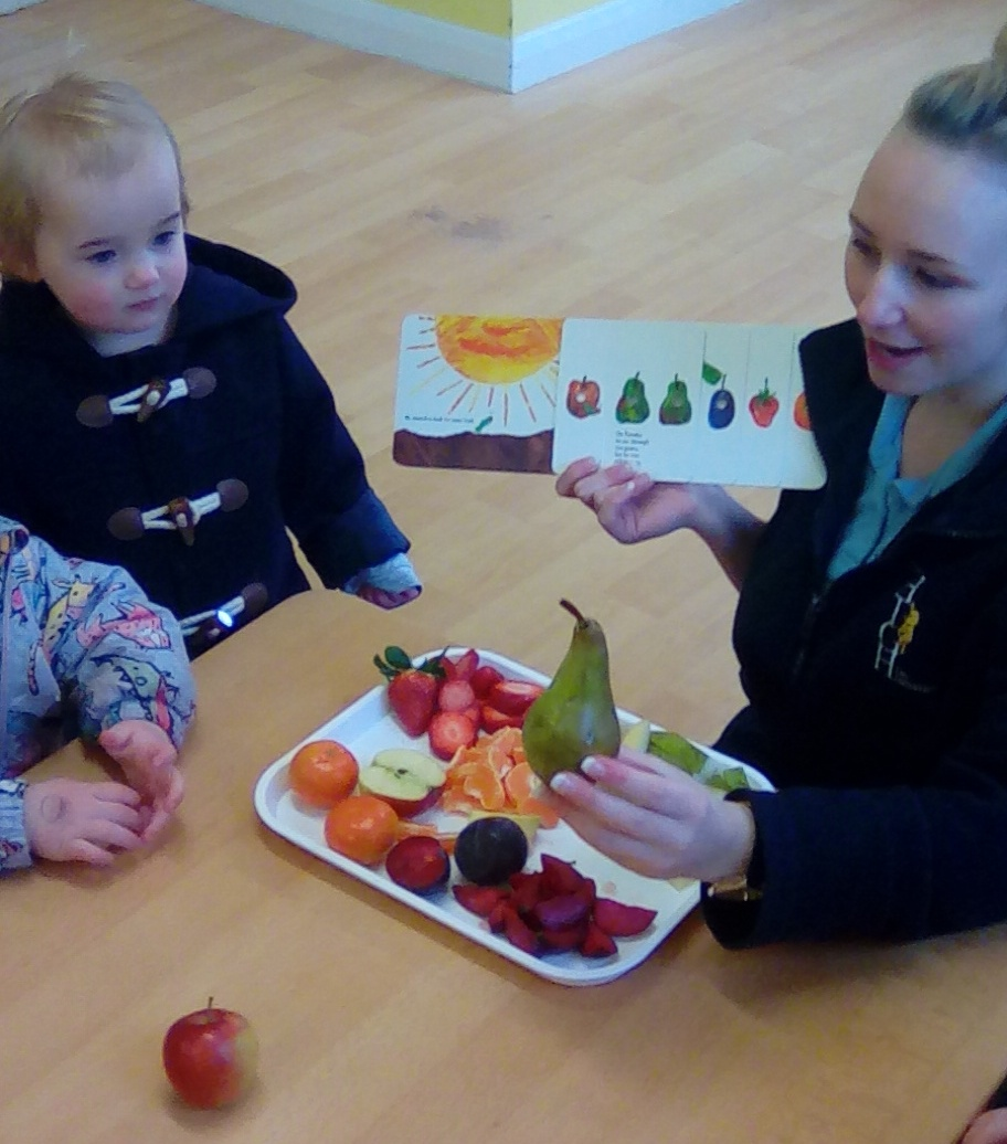 the hungry caterpillar (1)