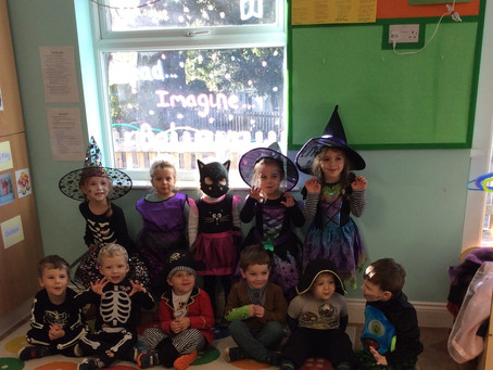 Halloween Fun at Keepers Cottage