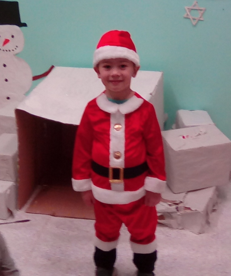our own little santa
