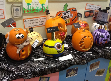 Flore's Pumpkin Competition