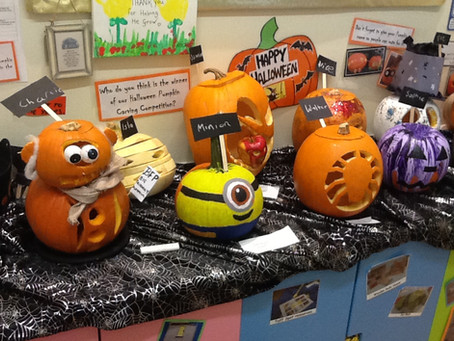 Flore's Pumpkin Competition