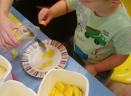Smoothie Making at Ryehills