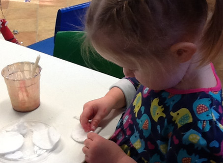 Pre-School December Activities at Flore