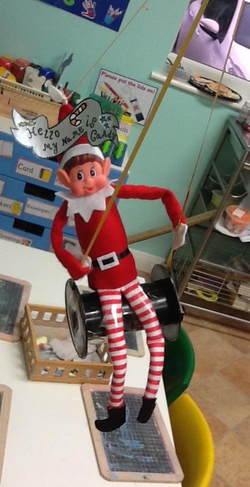 Elf on the Shelf 1st Day (1)
