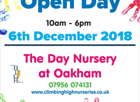 The Day Nursery at Oakham Open Day
