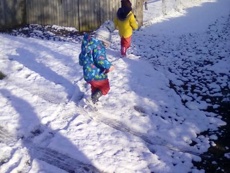 Snow Day at Ryehills!