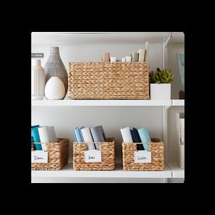 Storage Bins with Handles