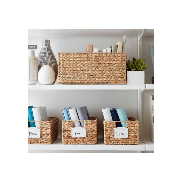 Storage Bins with Handles