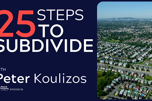 25 steps to subdivide