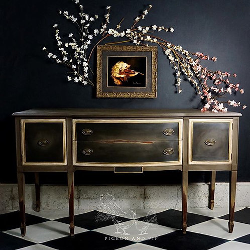 SOLD~Classic Painted Sideboard