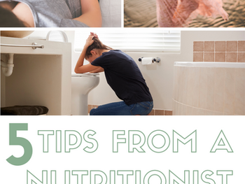 Healthy Pregnancy - Choosing Foods for Morning Sickness? Here are 5 Nutritionist-Approved Tips.
